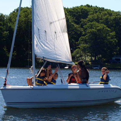 sailing camp youth